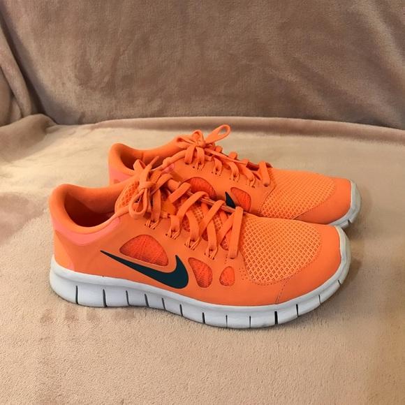 Nike Shoes | Nike Youth Bright Orange